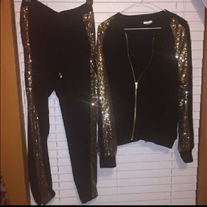 Matching outfit. Entire closet is BOGO.